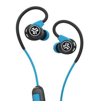 Fit Sport 3 Wireless Fitness-oordopjes in zwart en blauw