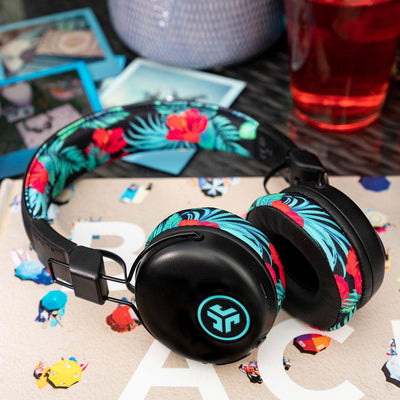 Tropical print Studio Wireless Headphones