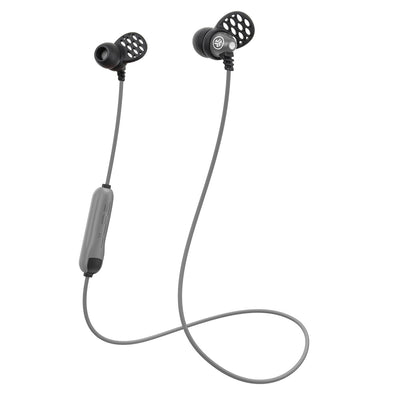Metal Bluetooth Rugged Earbuds en argent