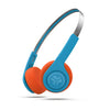 Rewind Wireless Retro Headphones Retro Kopfhörer in blau