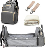 Load image into Gallery viewer, Kooky 3 in 1 Diaper Bag Backpack