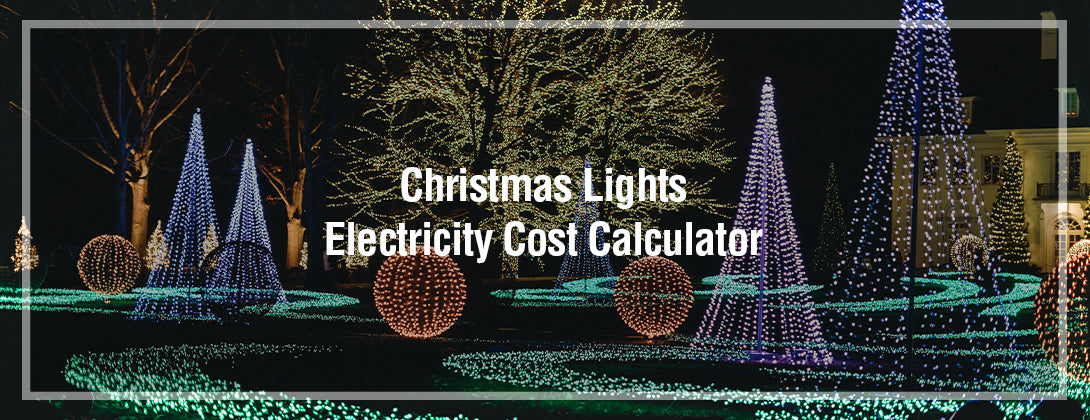 Christmas Lights Electricity Cost Calculator