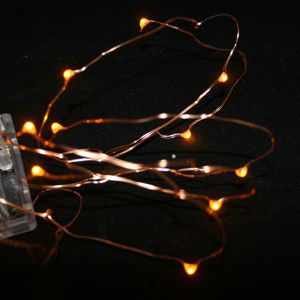Orange Battery Fairy Lights