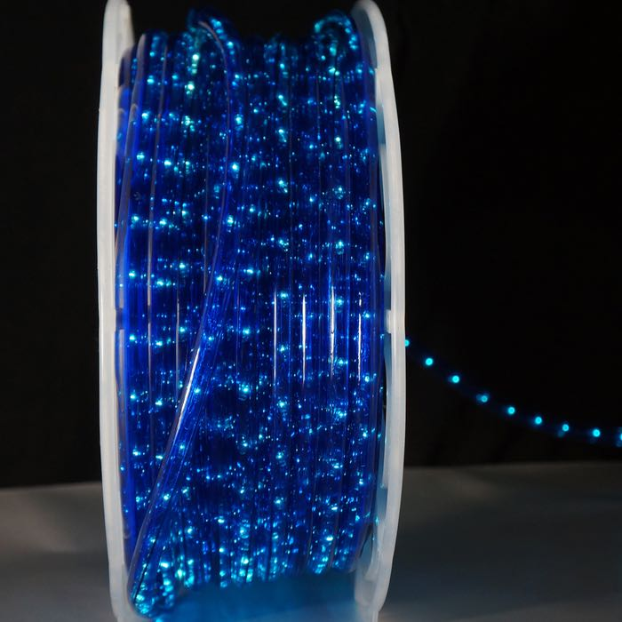 Blue Rope Light 13mm 2 wire