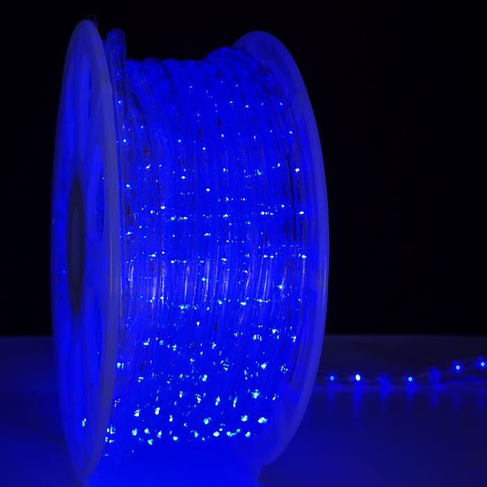 1/2 Inch Blue LED Rope Light