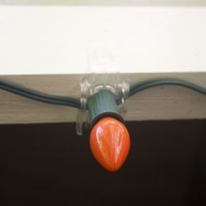 C Clips Are Perfect For Installing Lights On Railings