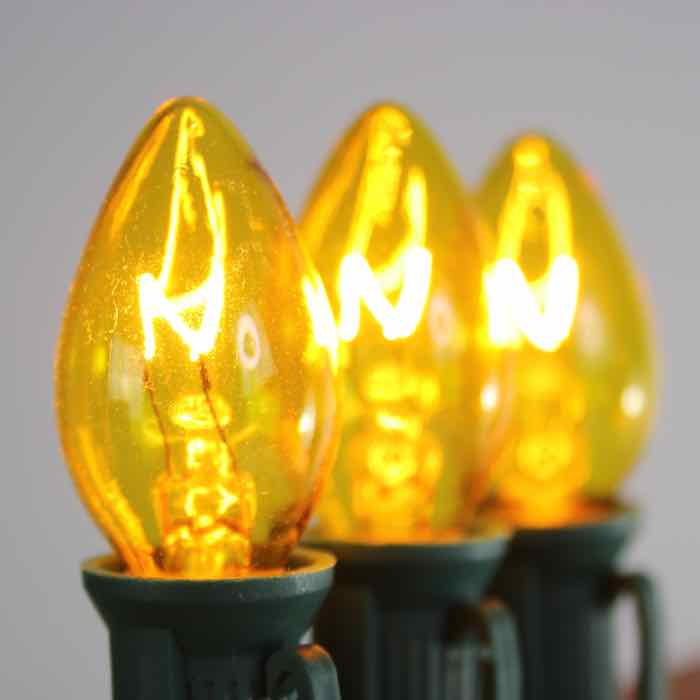 C7 Bulbs Yellow