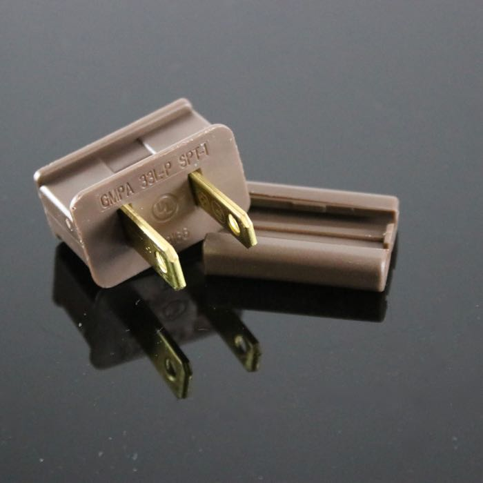 Male Gilbert Plug SPT-1 Brown