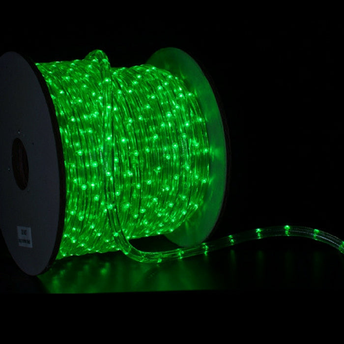 150 foot spool of 3 8 inch green led rope light