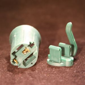 Green SPT-2 C9 Socket and Cap