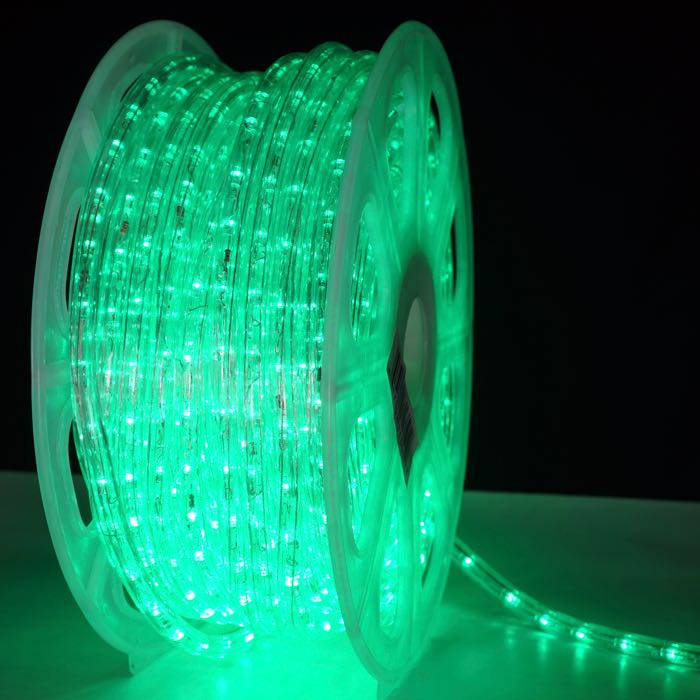 Add To My Lists 1 2 Inch Green Led Rope Light