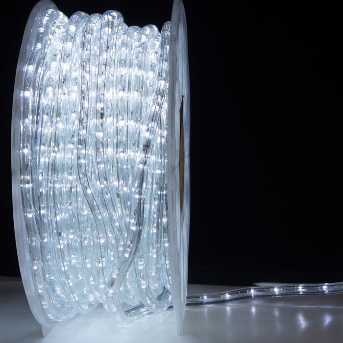 1/2 Inch Pure White LED Rope Light