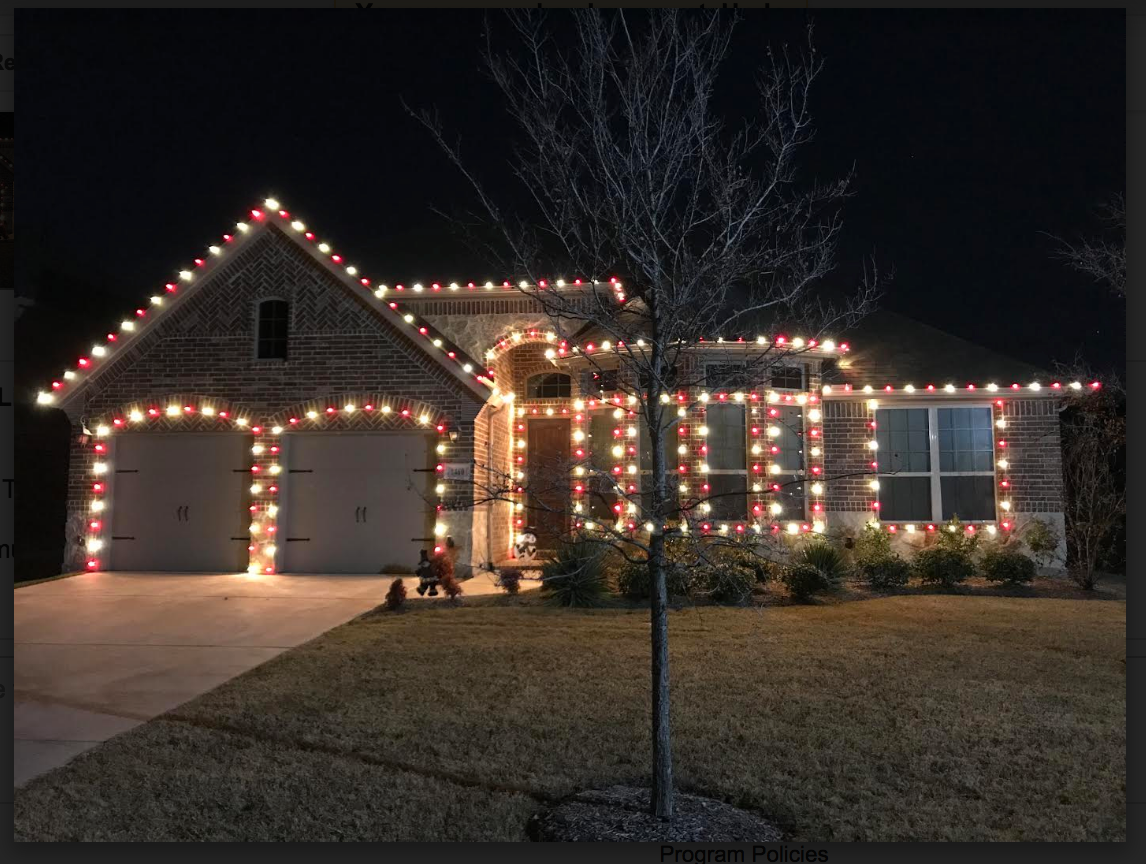 Christmas Lights White Wire Led