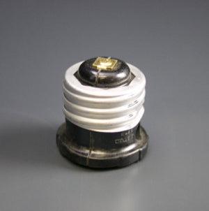 Lampholder Adapter Tap Brown