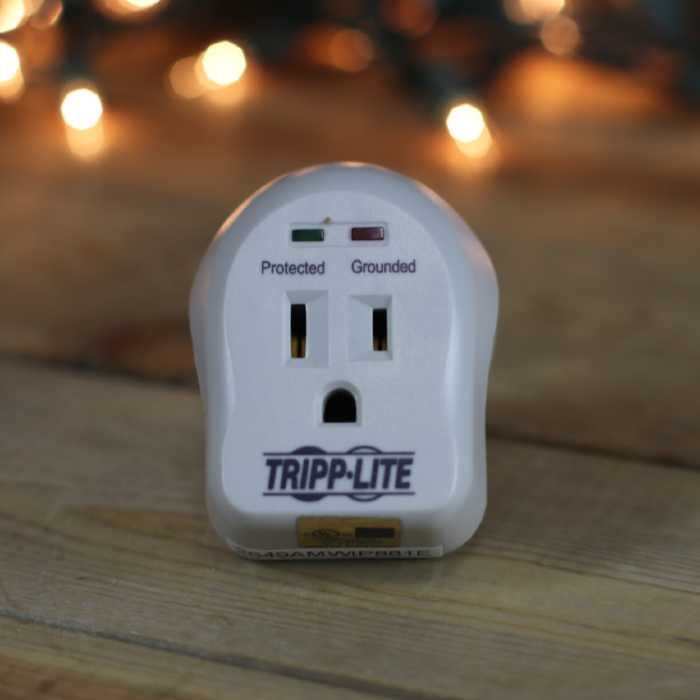 Tripp Lite SpikeCube Series 1-Outlet Surge Protector