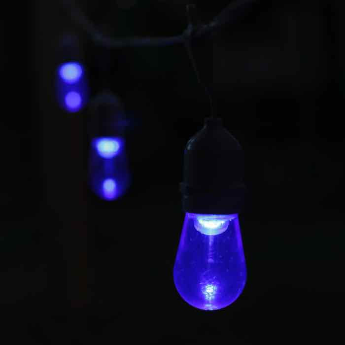 Smooth Blue T50/S14 E26/MED LED Bulb