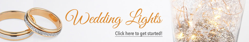 Wedding Lights - Click here to get started!