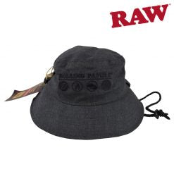 ROLLING PAPERS X RAW SMOKERMAN'S HAT – GREY or PINK