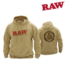 Load image into Gallery viewer, RAW Hoodie – Black and Sand