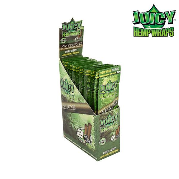 Juicy Natrual Hemp Wraps