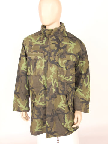 Czech army camo jacket