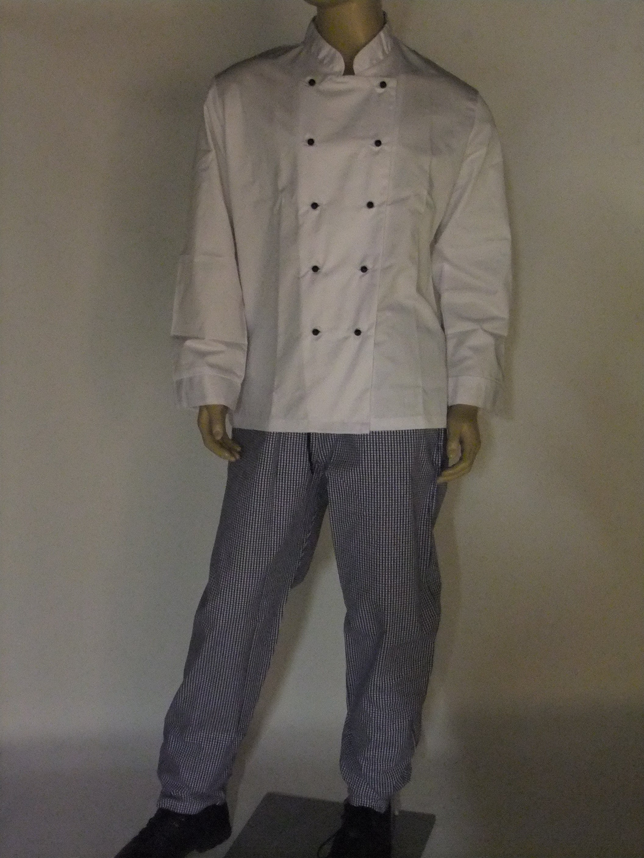 Genuine Chef suit.