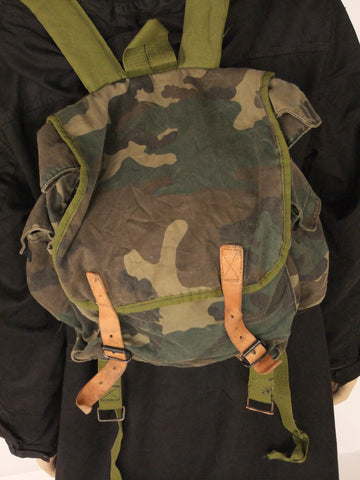 Croation camo backpak