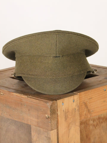 Khaki miitary dress cap