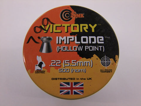 22 Hollow Point Pellets