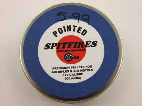 177 Pointed Pellets