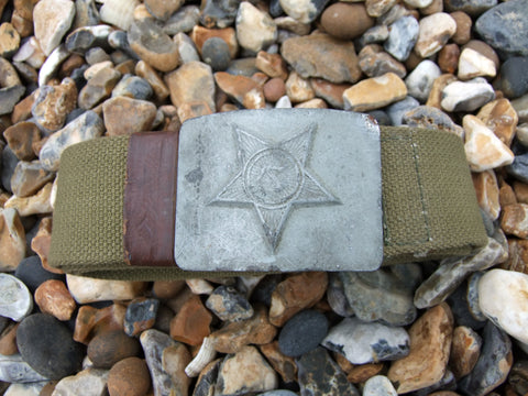 Original issue Soviet Belt with anodised buckle.