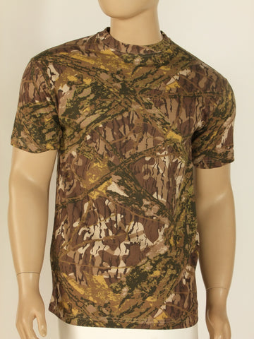 Real tree camo T-shirt