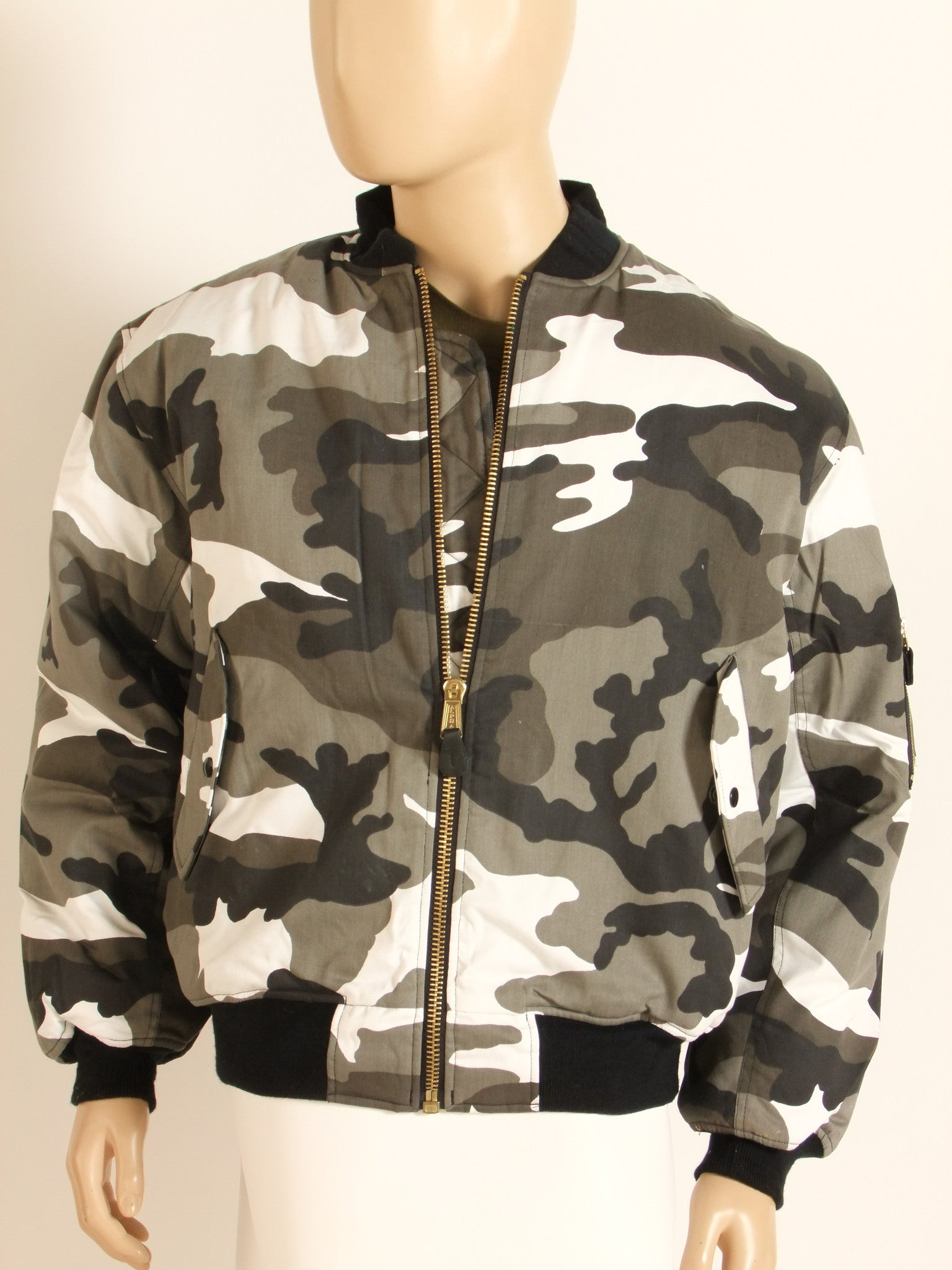 MA1 urban flight jacket