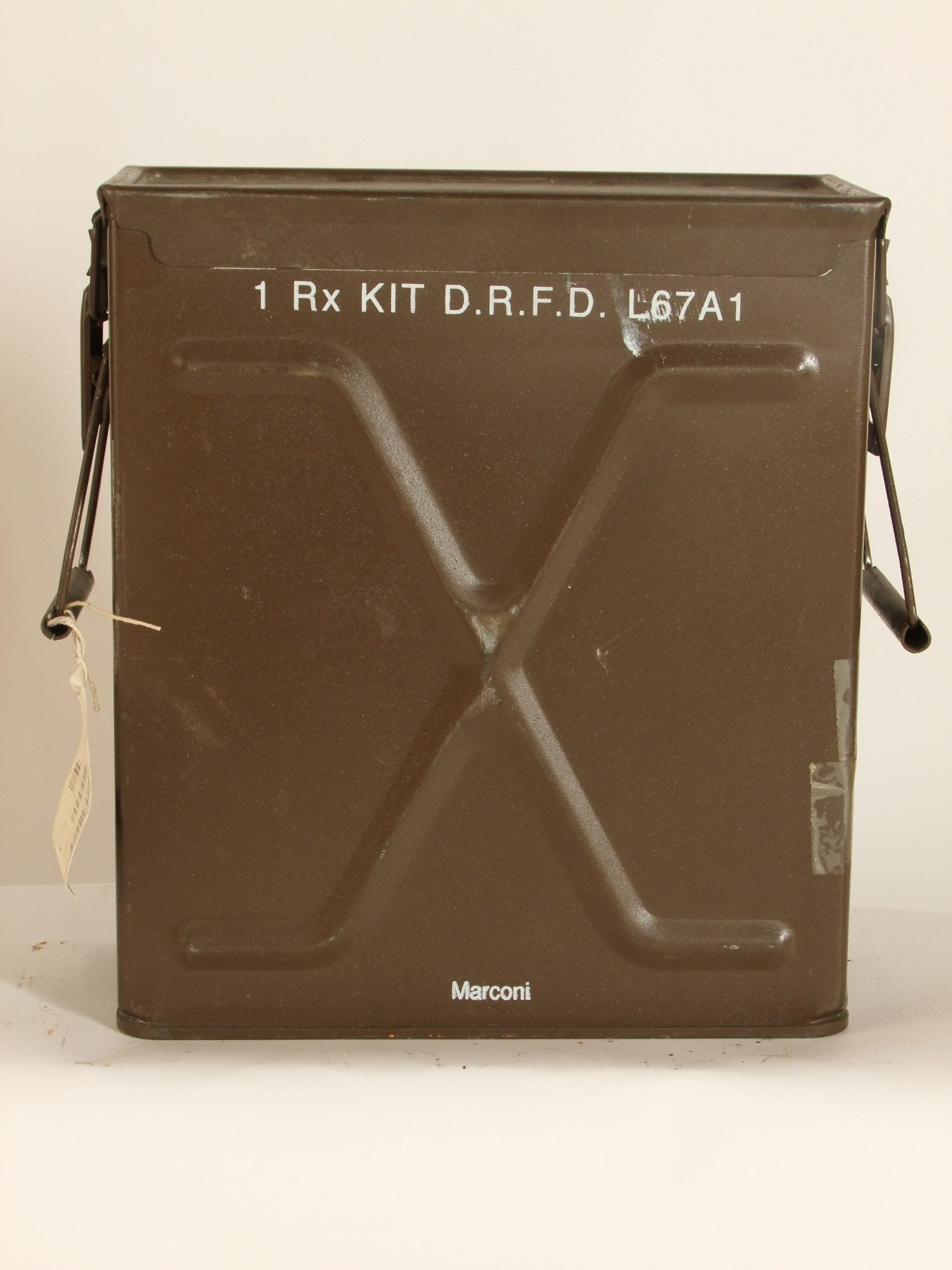 Ammo tin/radio equipment box