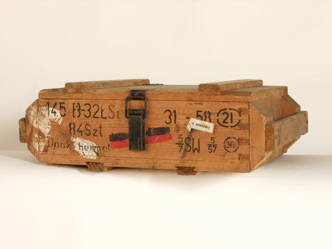 AK47 ammo wooden box.