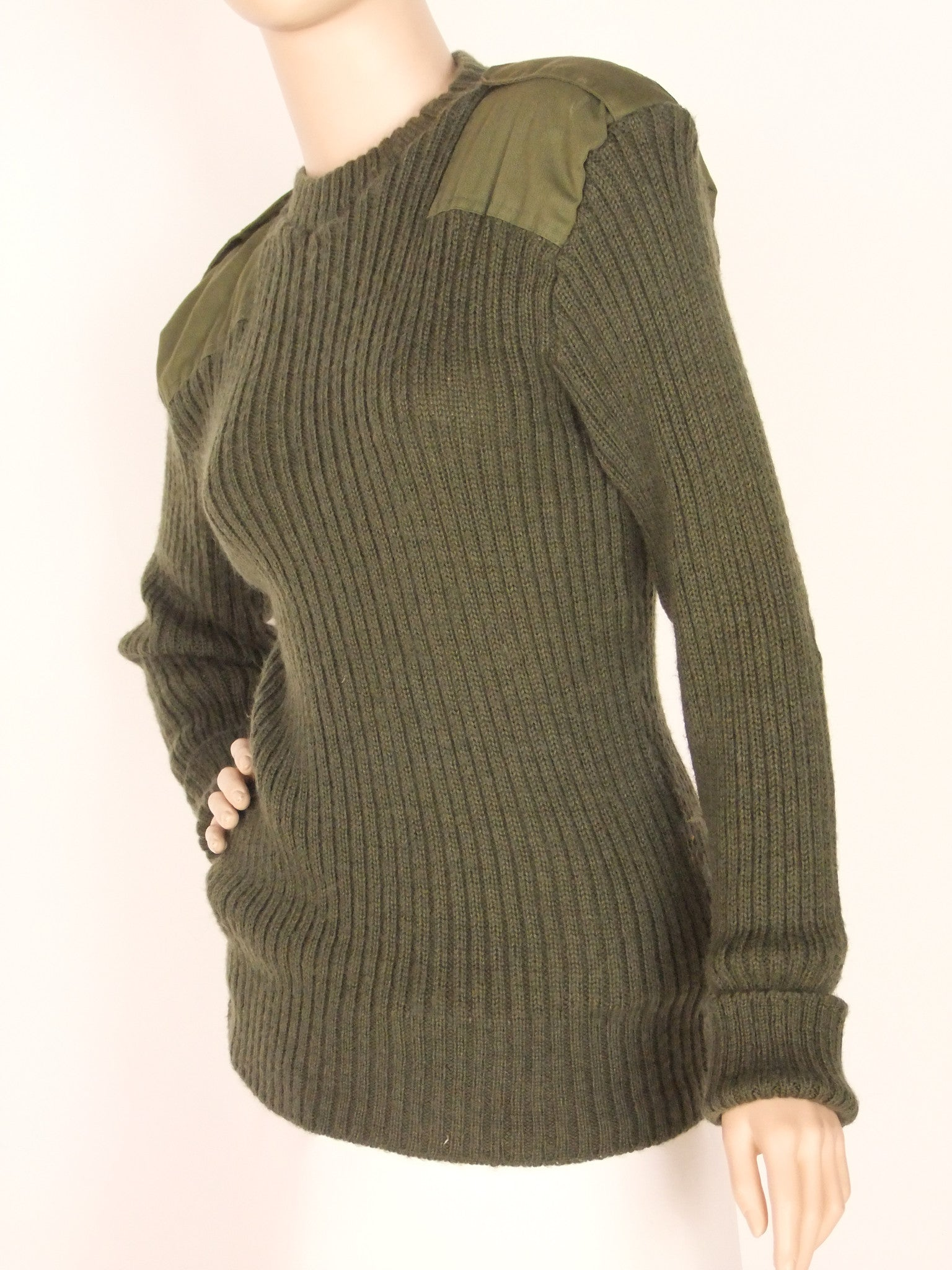 Us Army Surplus >> Army Wooly Pully – Golding Surplus
