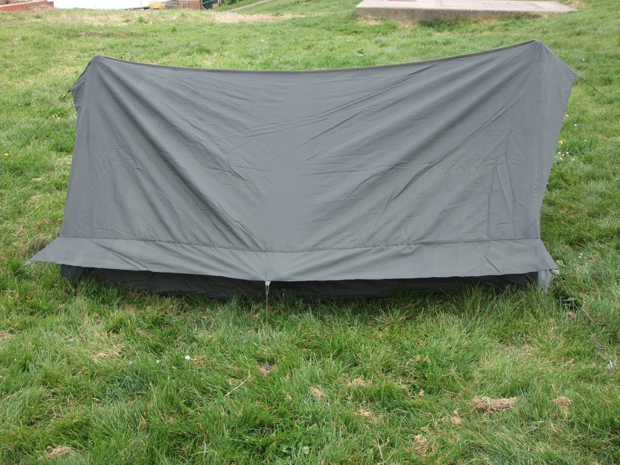 French army issue two man tent. Single door. & French army issue two man tent. Single door. u2013 Golding Surplus