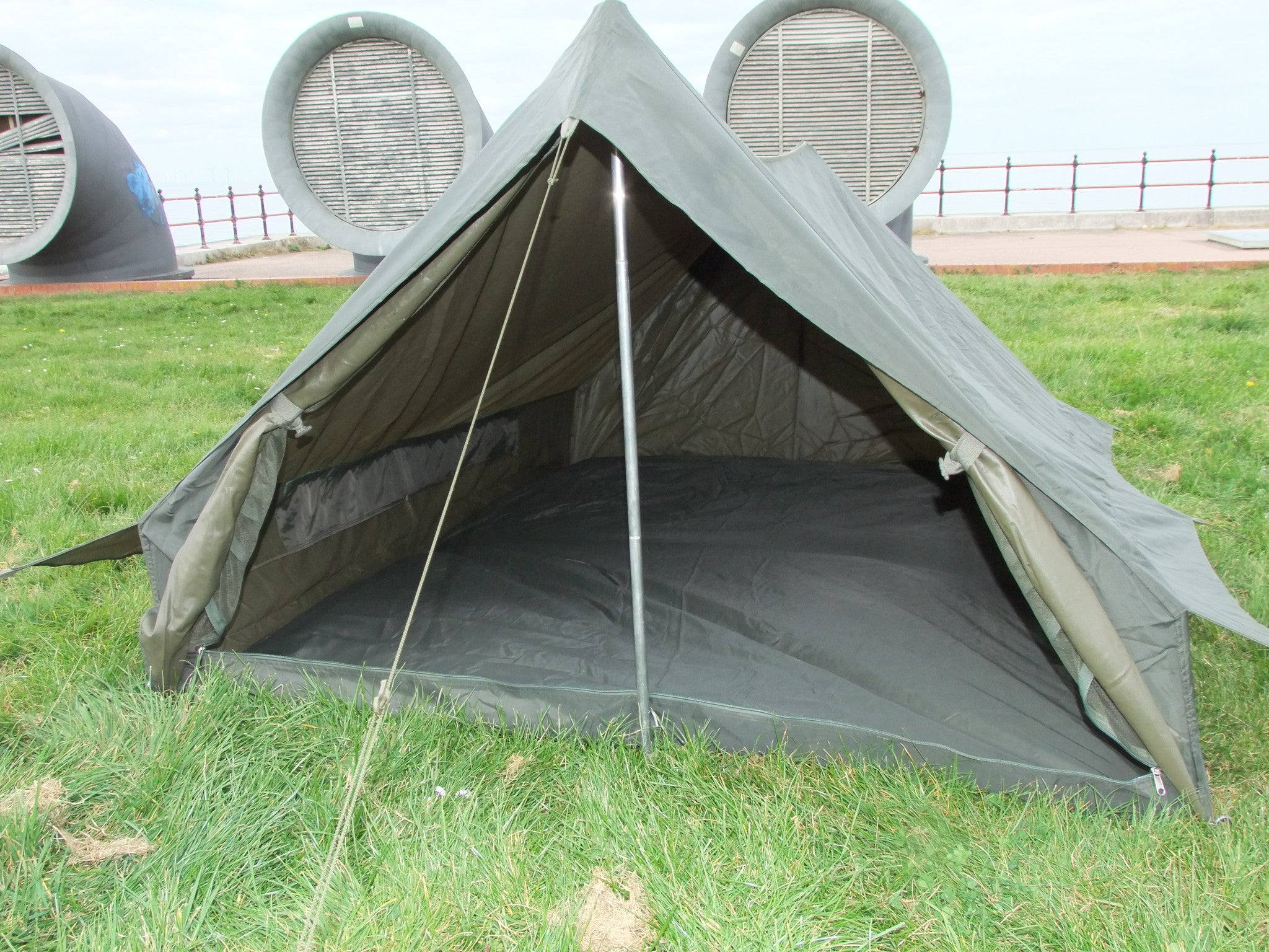 French army issue two man tent  Single door  – Golding Surplus