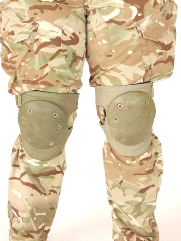 British issue knee pads