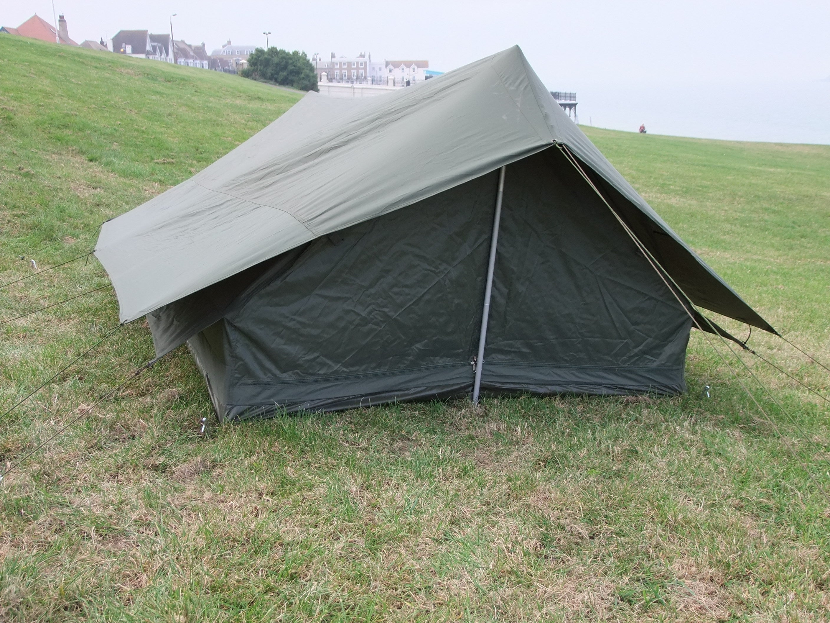 French two man tent with seperate fitted flysheet