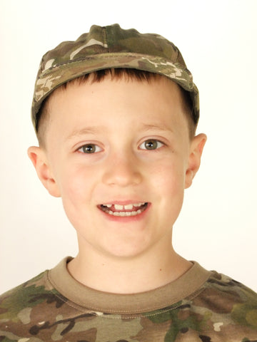 Childrens combat cap