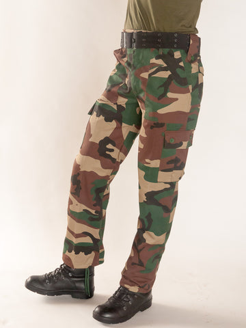 New camo combat trouser large waist size