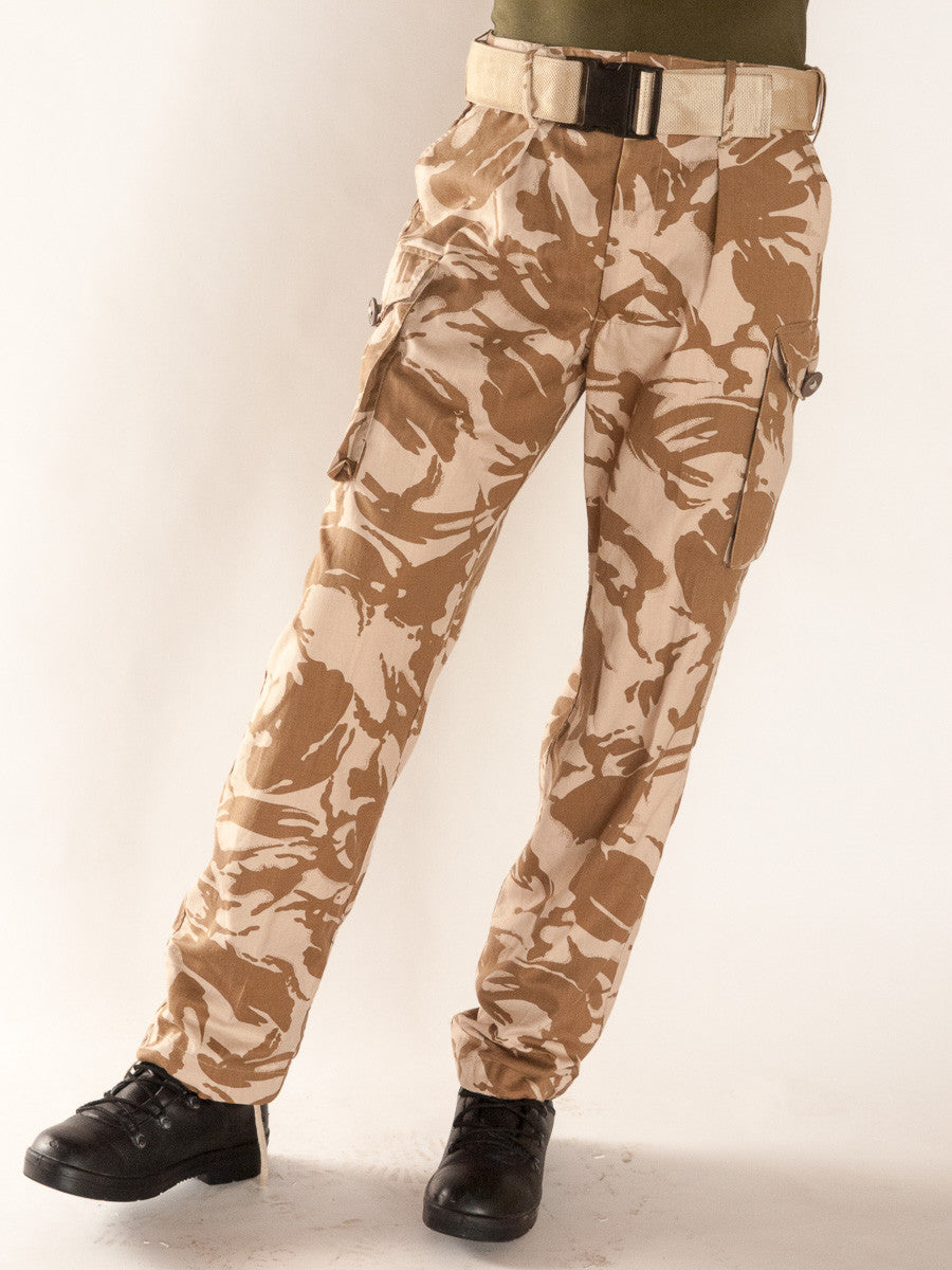 British desert combat trousers