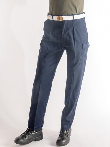 Navy work trouser
