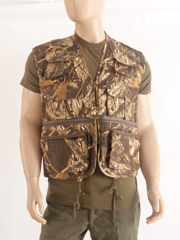 Tree Bark Camo Activity Vest