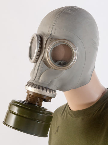 Russian gas mask
