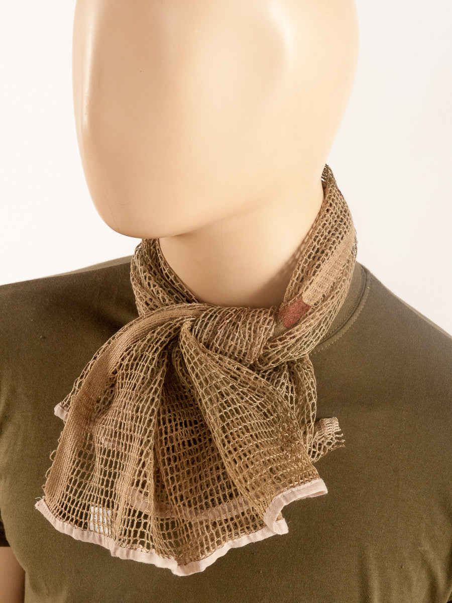 Scrim net scarf – Golding Surplus