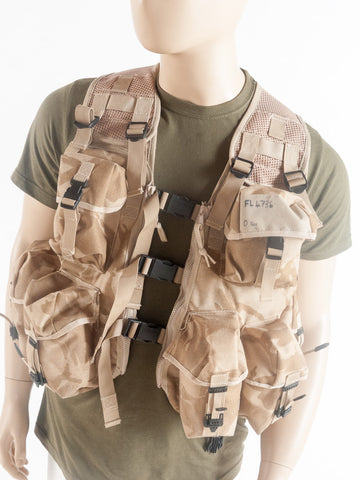 Desert assault vest