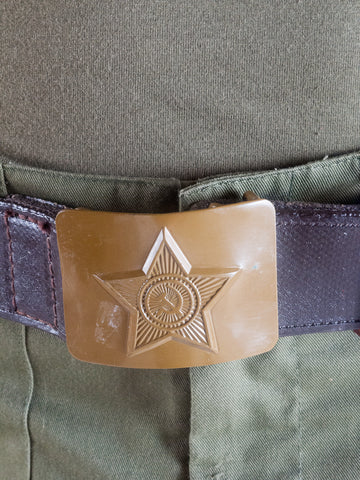 Soviet brown belt