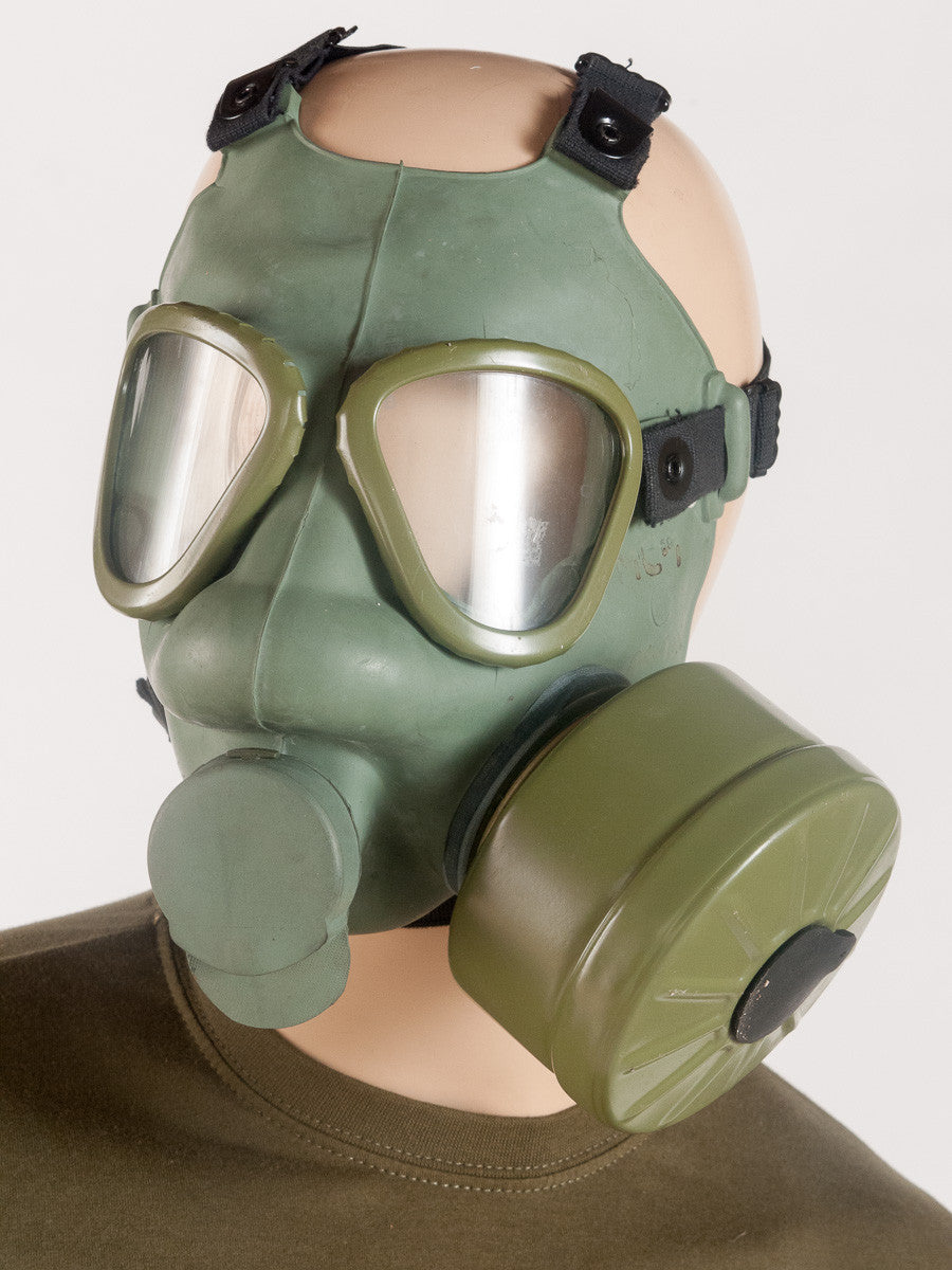 Yugoslavian Gas Mask Golding Surplus